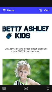 Betty Ashley Kids poster