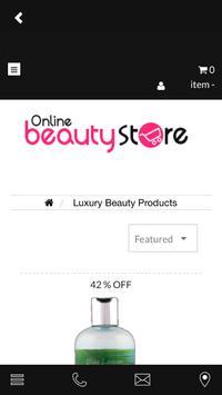 Beautystore screenshot 2