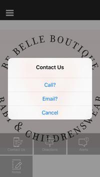 Be Belle Boutique UK poster