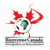 Bienvenue canada immigration icon