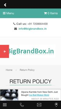 BigBrandBox screenshot 3