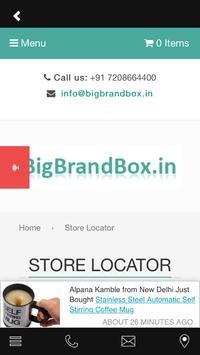 BigBrandBox screenshot 2