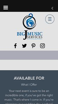 Big J Music Services poster