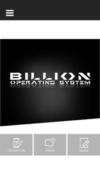 Billion Operating System screenshot 1