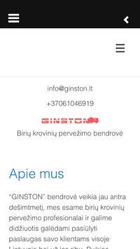 Birus kroviniai apk screenshot