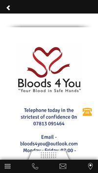 Bloods4you Book Today apk screenshot