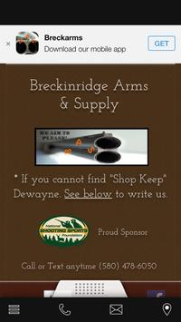 Breckinridge Arms poster