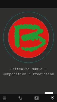 Britewire Production Music poster