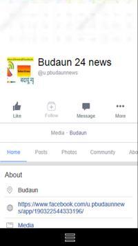 Budaun 24 News screenshot 1