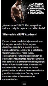 BUFF Academy poster