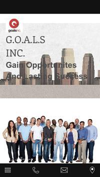 GOALS INC Non Profit poster