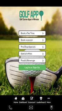 Golf 247 Test App poster