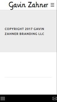 Gavin Zahner Mobile screenshot 1