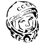 gagarin barbershop icon