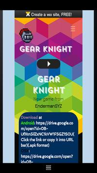 Gear Knight poster