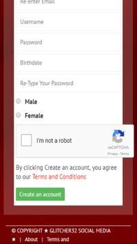 glitcher32 Social apk screenshot