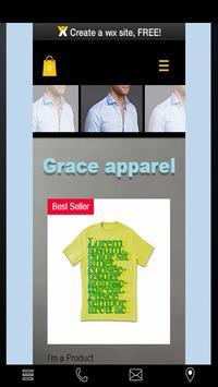 Grace apparel poster