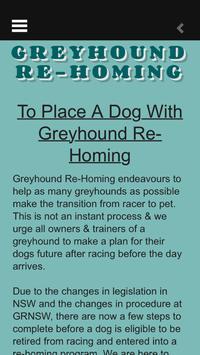 Greyhound ReHoming screenshot 1