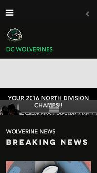 DC WOLVERINES poster