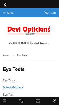 Devi Opticians apk screenshot