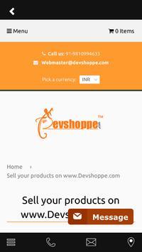 Devshoppe apk screenshot