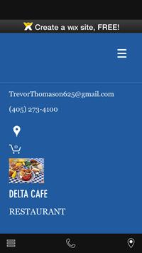 delta the resturant poster