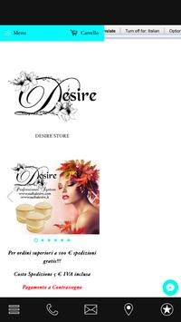 Desire Nails poster
