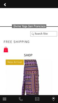 Divine Yoga SF screenshot 1