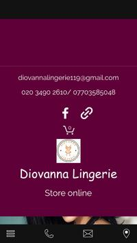 Diovanna Lingerie poster
