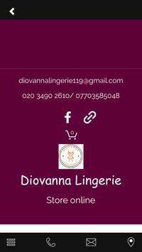 Diovanna Lingerie apk screenshot