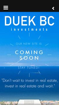 DUEK BC Investments poster