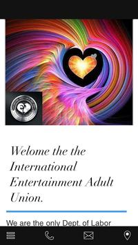 Entertainment Adult Union poster
