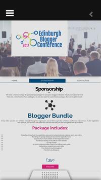 Edinburgh Blogger Conference apk screenshot