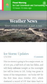 EG Weather poster