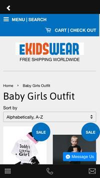 eKidsWear apk screenshot