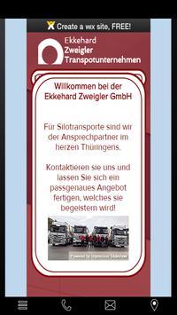 Ekkehard Zweigler Transporte poster