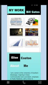 Elise Coston's PR Portfolio apk screenshot