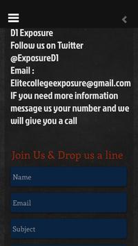 Elite College Exposure screenshot 3