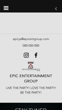 Epic Entertainment Group poster
