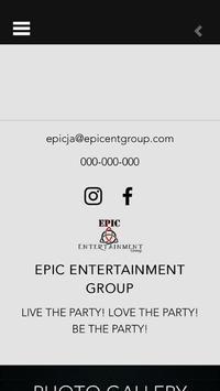 Epic Entertainment Group screenshot 1