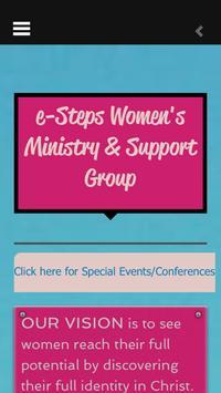 eSteps Women's Support Group screenshot 1