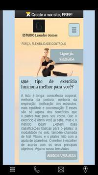Estudio Leandro Gomes poster