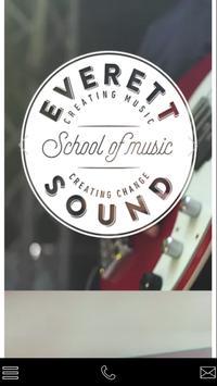 Everett Sound School of Music poster