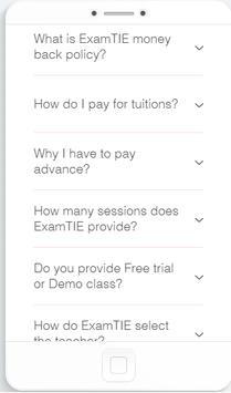 ExamTie apk screenshot