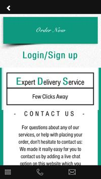 Expert Delivery Service apk screenshot
