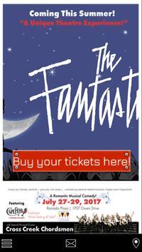 Fayetteville Dinner Theatre poster