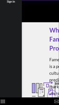 Fame Project apk screenshot