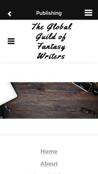 Fantasy Writers Guild poster