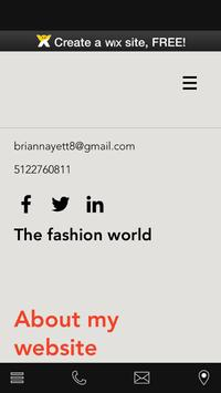 Fashion life poster