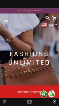 Fashions Unlimited poster